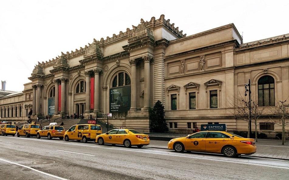Who is the first Indian to be elected to the board of the Metropolitan Museum of Art in New York City